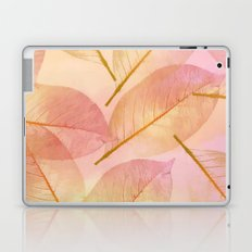 Pastel Fall Leaf Abstract Laptop & iPad Skin
