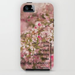 rules of life - jack kerouac  iPhone Case