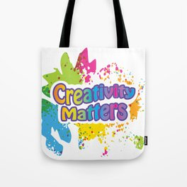Creativity Matters Tote Bag