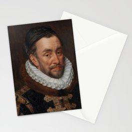 Old Oil Portrait of Prince of Orange, 1579. Stationery Cards