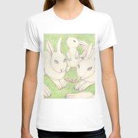 bunnies T-shirts featuring Bunnies by Adi Yochalis