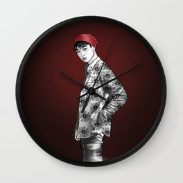 FLOWER BOY ONE Wall Clock