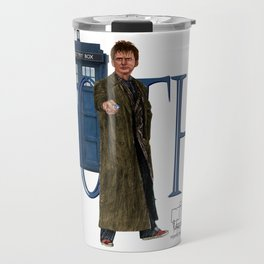 10th Doctor Travel Mug