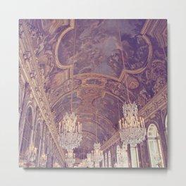 Hall of Mirrors Metal Print