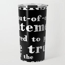 Hearsay Rule Travel Mug