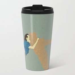Big absence illustration Travel Mug