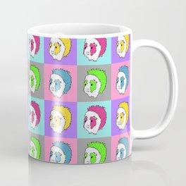 Pop Art Abyssinian Guinea Pigs! Coffee Mug