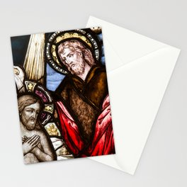 Baptising Jesus Stationery Cards