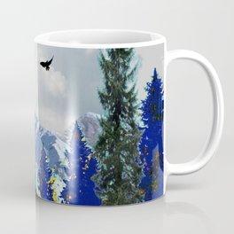PURPLE MOUNTAINS WILDERNESS LANDSCAPE Coffee Mug