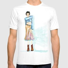 Fashion Killa White MEDIUM Mens Fitted Tee