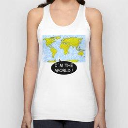 I´m the world (II) Unisex Tank Top