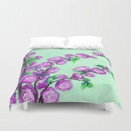 Double Almond Blossoms Duvet Cover