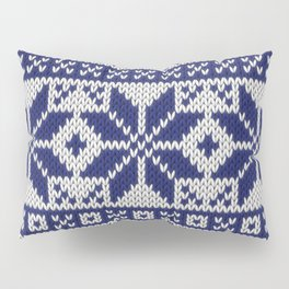 Winter knitted pattern 5 Pillow Sham