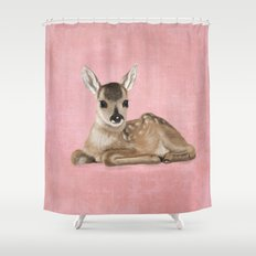 Small fawn Shower Curtain