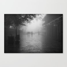 New Orleans on a foggy day Canvas Print