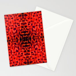 Red Petals Stationery Cards