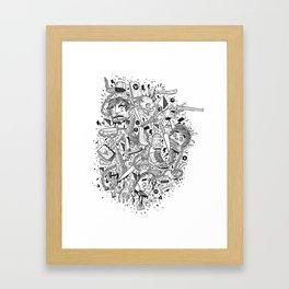 Linked Framed Art Print