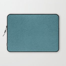 Abstract solid color turquoise wall texture Laptop Sleeve
