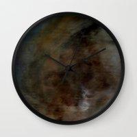 tarot Wall Clocks featuring gypsy tarot by Imagery by dianna