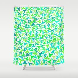 Ginko Leaves- Small Shower Curtain