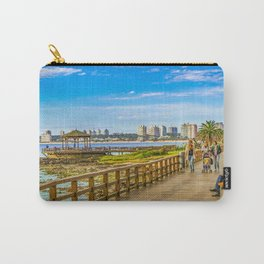 Punta del Este Boardwalk, Uruguay Carry-All Pouch