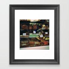 French Bakery  Framed Art Print