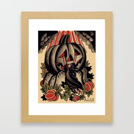 pumpkin of ages Framed Art Print