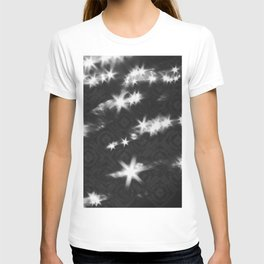 reflections pattern T-shirt