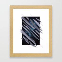 BETWEEN Framed Art Print