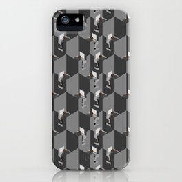 Cubicles Pattern iPhone Case