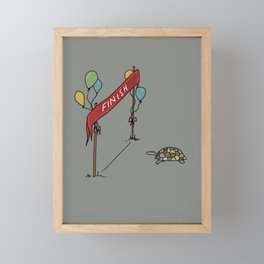 Congratulations you have finished! Framed Mini Art Print