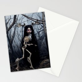 Wendigo in the Woods Stationery Cards