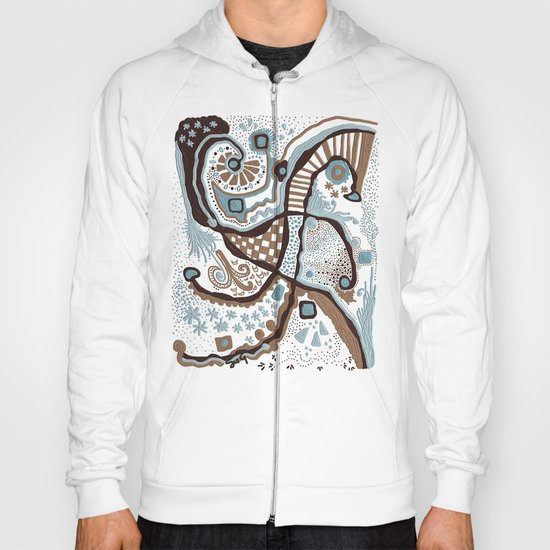 Crowded land  Hoody