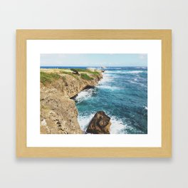 Laie Point, Oahu Framed Art Print