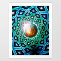 Nucleus Art Print