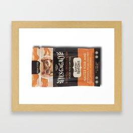 KARMA MELLOWL GOLDEN CHOCOLATE BAR Framed Art Print
