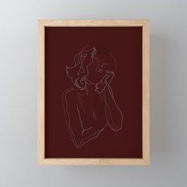 Molly Framed Mini Art Print