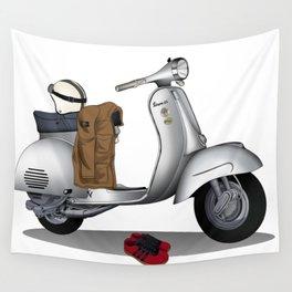 Vespa GS & Casual Stuffs Wall Tapestry