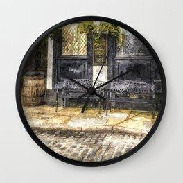 Pub Resting Place Art Wall Clock