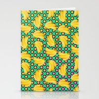 banana Stationery Cards featuring banana by mark ashkenazi