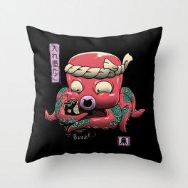 Inkedtopus Throw Pillow