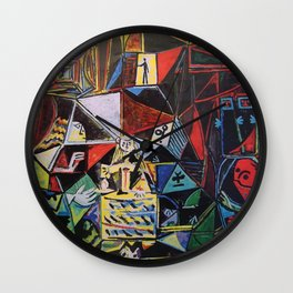 A roughly vectorised and reworked Picasso Wall Clock