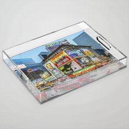 Times Square III Special Edition I Acrylic Tray