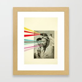 Communicator Framed Art Print