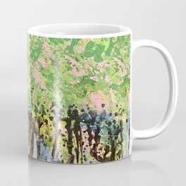 Drinking Wine under the Strawberry Trees Coffee Mug