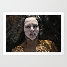 Ellen Art Print