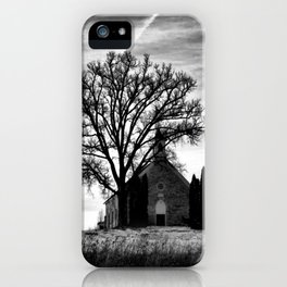 Church in the Country iPhone Case