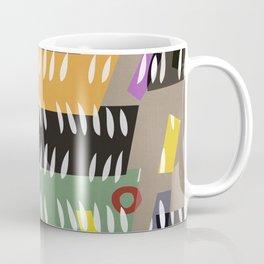 UDON NOODLE BOWL . abstract cutouts Coffee Mug