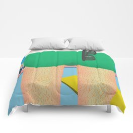 About to make a bigger splash Comforters