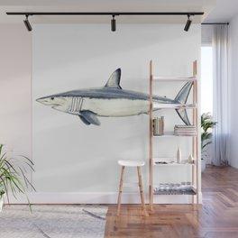 Mako shark (Isurus oxyrinchus) Wall Mural
